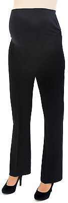 Tailored Maternity Trousers LONG TALL 18-20 22-24 26-28 Work PLUS SIZE UK