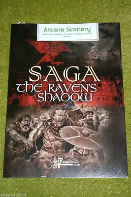 SAGA THE RAVENS SHADOW rules supplement + Battle boards from GRIPPING BEAST
