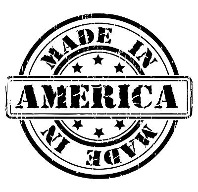 MADE IN AMERICA Proud USA Outdoor Vinyl Car Decal Window Sticker