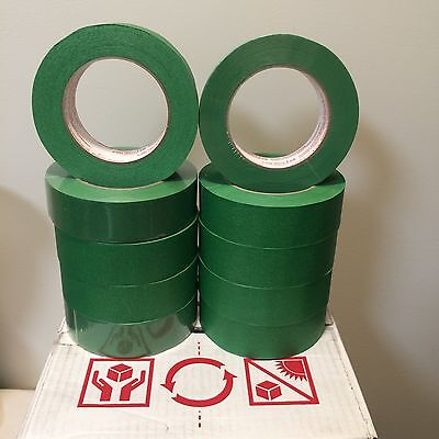 Automotive Masking Tape Cantech 11/2 X 55 Yards Green 24 Rolls