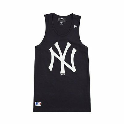 New Era MLB New York Yankees Team App Marineblau Logo Herren Behälter Muskeltop