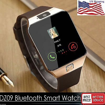 New DZ09 Bluetooth Smart Watch GSM SIM for iPhone Samsung lg Android Phone Mate