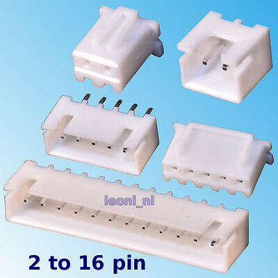 Pack of 10 pcs 2-16 Pin Molex KK Style 2.54mm Pitch Connector Housing Header