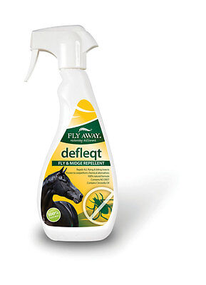 Groom Away Fly Away Defleqt Fly & Midge Horse Fly Spray/Repellent/Gel