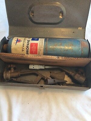 Vintage Otto Bernz Co Rochester NY Propane Torch Head Kit.
