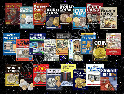 KRAUSE Standard World Catalogs 2018. 25 catalogs of coins and banknotes PDF only