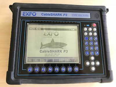 Exfo CableSHARK P3 VF/DSL Cable Qualifier POTS / DSL Tester