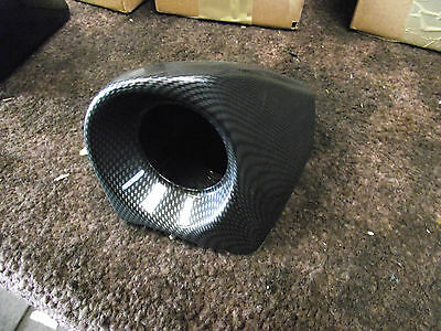 Subaru Impreza forester single Dash gauge Pod STI WRX left hand side carbon dip