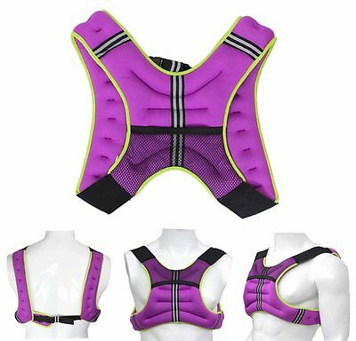 Weighted Vest 5Kg Weight Loss Jacket Training Running Vest Loss Gym Fitness