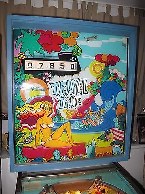 Williams Travel Time Pinball Machine 1973 Rare Vintage Pinball