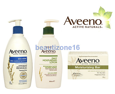 Aveeno Active Naturals - Skin Care Products - Lotion & Bar - Fragrance Free