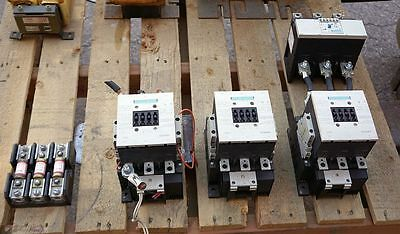SIEMENS SIRIUS 3RT1055  CONTACTOR  LOT 185 Amps 125 HP Max - Starter