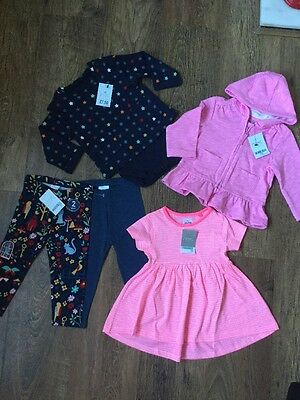 Next  Girls Clothes Bundle  Brand New With Tags 9-12 Months