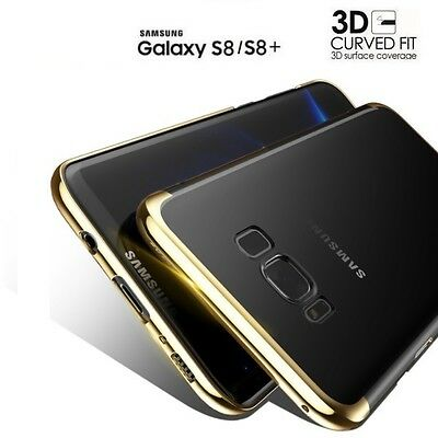 COVER CUSTODIA TPU per SAMSUNG GALAXY S8 / S8 PLUS ORIGINALE ELECTROPLATING