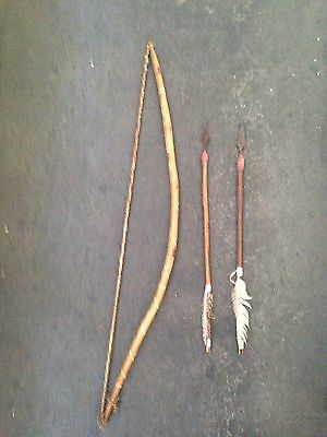 African Bow and Arrow by the Kalahari Bushman San Tribe