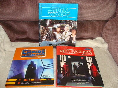 Star Wars Trilogy New Hope Empire Strikes Back Return of the Jedi Step-Up HC Set