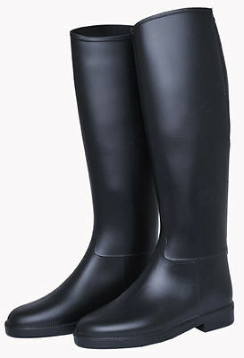 HKM Basic Soft Synthetic Ladies/Kids/Childrens Long Horse Riding Boots