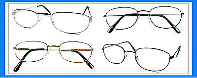 Reading Glasses [+3.00] 4 Metal Frame Wholesale Assorted Reader Men Women 3.00