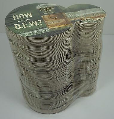 125 Tullamore Dew Irish Whisky - Dew & Brew Cardboard Coasters
