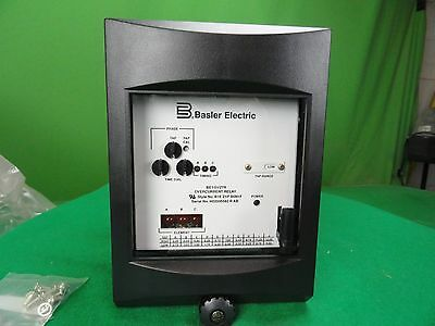 Basler BE1-51/27R Time Overcurrent Relay *New*