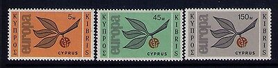 Cyprus Stamps Europa SC# 262-264 MNH Cat.$26