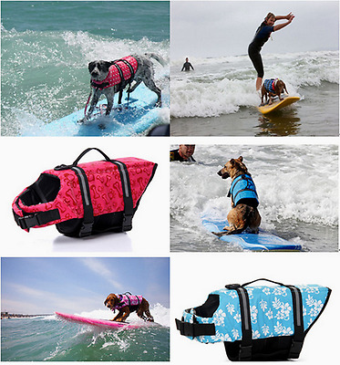 New Pet Life Jacket Outdoor Swimming Suit Summer Clothes Pet Safe Bathing Suit