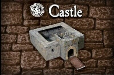 NEW in Box Painted Dwarven Forge Castle with Stretch Goals 99 pcs 4-CA-P