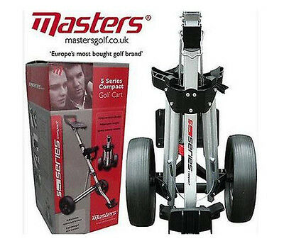 Masters Golf - 5 Series Super Compact Trolley - Was £69.99 Now Only £38.99