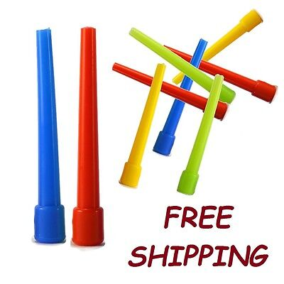 """100 XXL 4"""" Mix Color Male Mouth Pieces for Hookah Shisha  Disposable Hose Tips"""