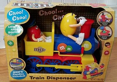 M&M's Train Dispenser With Lights & Sound chocolate candies candy
