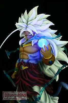 DRAGON BALL Z - Broly SSJ5  Resin figure with led Collectors Size 45 cm sculture