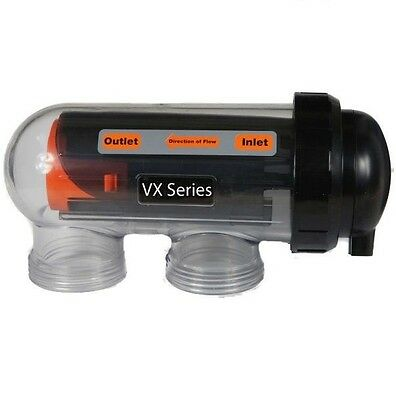 Hurlcon VX7 Self Cleaning Saltwater Chlorinator Cell With Cell Housing - Genuine