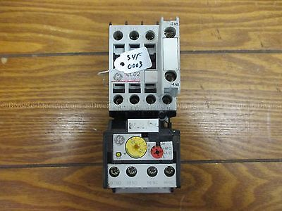 GE Cl02A310T Contactor 24V coil 60HZ W/ Aux Contactor  RT1M
