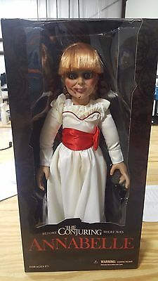 """Annabelle 18"""" Prop Replica Doll, Mezco Toys, NEW in box, The Conjuring"""