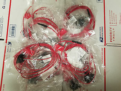 Lot of 10 Motorola APX6500 APX7500 XTL5000 XTL2500 Accessory Ignition Cables