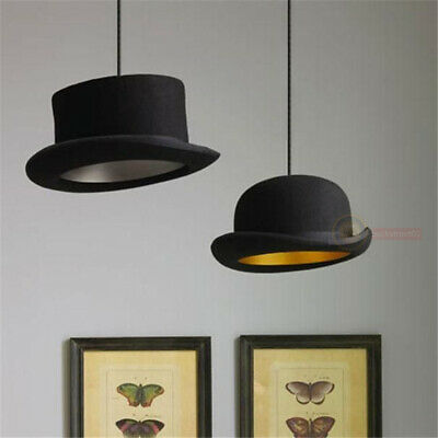 Jeeves & Wooster Wool Hat Tall Hat Bowler Pendant Light Ceiling Lamp Lighting