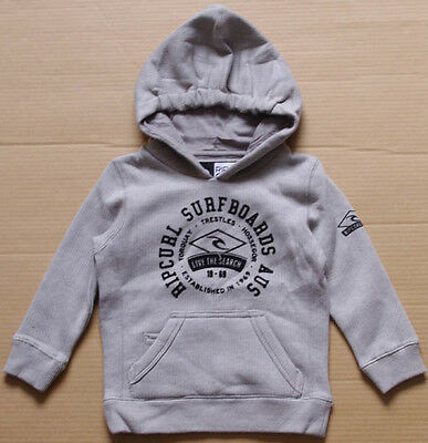 Rip Curl Baby Boys Pullover Fleece Hoodie Jumper size 0 NWOT RIPCURL