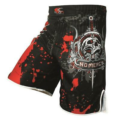 Men's Boxing Pants Print Skeleton Skull MMA Muay Thai Shorts Polyester Kick Gel