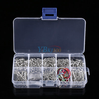 Fine Jewellery Making Tools Kit Head Pins Chain Findings Handmade DIY Accessory