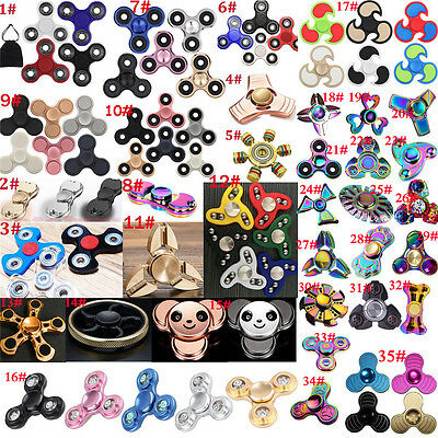 3D Fidget Hand Spinner Finger Toys EDC Focus Stress Reliever For Kids Adults OZE
