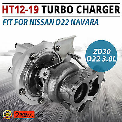 Stable TurboCharger HT12-19 Turbo Charger for NISSAN D22 Navara ZD30 3.0L Top