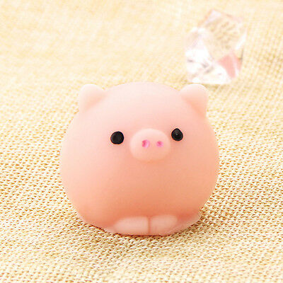 Fun Mochi Cute Pig Ball Toy Gift Relieve Anxiety Squishy Squeeze Healing Decor C
