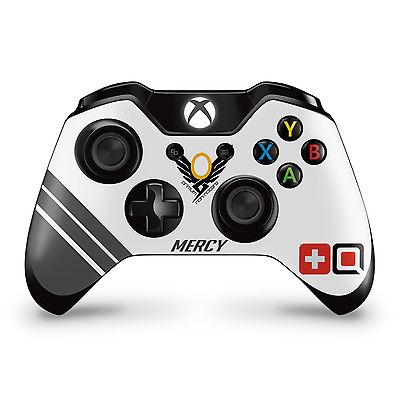 Mercy Fan Art Overwatch Theme Xbox One Controller Skin Decal Sticker