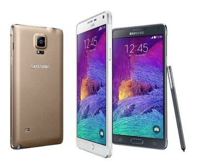 """Samsung Galaxy Note 4 SM-N910A 16MP 32GB (AT&T Unlocked) Android 5.7"""" Smartphone"""