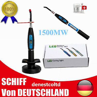 Dental Polymerisationslampe LED Curing Light Wireless 5W Lichthärtegerät lampe