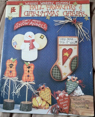 Fall Favorites & Christmas Cheer Folk Art Tole Decorative Painting Book