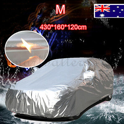 Good Quality Aluminum Waterproof Heavyduty UV Dust Protect Thicker Car Cover M