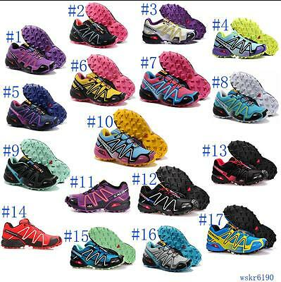 Womens Outdoor Salomon Speedcross3 Athletic Sneakers Running Shoes Hiking Shoes