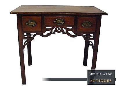 Antique George III Walnut Side Table or Lowboy circa 1770