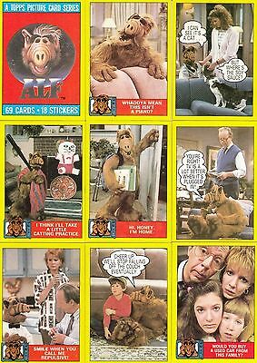 Alf Series 1 - Complete Trading Card Set (47) - 1987 TOPPS - NM